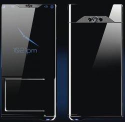 SLIQ - концепт мобильного телефона из переработанного алюминия