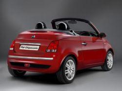 Из Fiat 500 сделают кабриолет