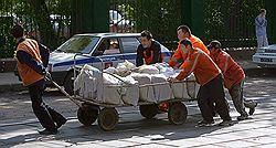 Мэрия Москвы  приняла программу приема гастарбайтеров