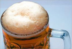 Впервые за 13 лет в России отмечено снижение выпуска пива