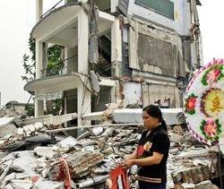 После землетрясения Китай ждет наводнение