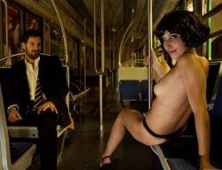 Эротика в метро от Джема Абеланета (Jam Abelanet) (фото)
