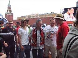Я в Москве, но где все фанаты?