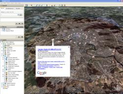 В Google Earth добавлен информационный слой Google News
