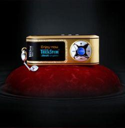 TrekStor выпустила золотой mp3 плеер