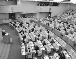 Сообщение о создании антикоррупционной комиссии вызвало в Госдуме жаркие споры