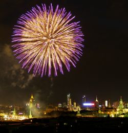 Фестиваль фейерверков в Москве (фото)