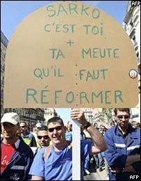 Франция снова поражена забастовками
