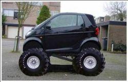 Тюнинг Suzuki Smart (фото)