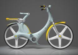 Пластмассовый велосипед IZZY для города