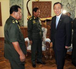 Генсек ООН убедил власти в Мьянме принять помощь
