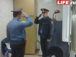 Как московская милиция встречала фанатов «Манчестера»? (видео)