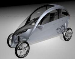 TVA Gazelle - гибрид автомобиля и мотоцикла