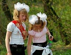 Прикольная подборка выпускниц (фото)