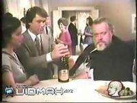 Актер напился на съемках рекламы шампанского (видео)
