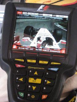 Телевизор для фанатов Формулы-1