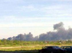 Пожар на полигоне под Санкт-Петербургом локализован