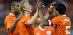 Футбол. Голландия-Украина 3:0