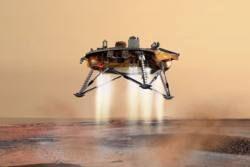 Американский аппарат готовится к посадке на Марс