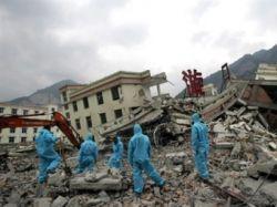 Землетрясение вызвало угрозу прорыва 69 плотин в Китае