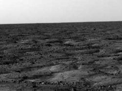 Зонд Phoenix отправил с Марса на Землю первый фотоснимок