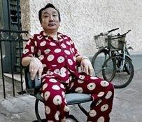 Люди в пижамах на улицах Шанхая