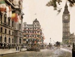 Первые цветные фотографии Англии