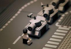 Lego-пародии на всемирно известные фотографии