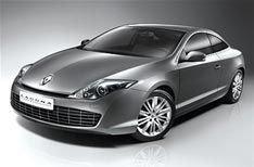 Renault представил свое новое купе Laguna