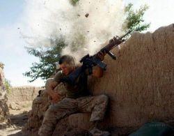 Редкие фотографии, снятые во время боевых действий