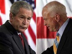 Джордж Буш займется сбором средств для Джона Маккейна