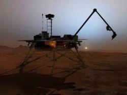 """Из-за неполадок на спутнике прервалась связь с марсоходом \""""Феникс\"""""""