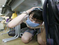 В Китае проходят учения на случай повтора землетрясений