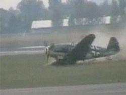 Авиакатастрофа на открытии международного авиасалона в Берлине