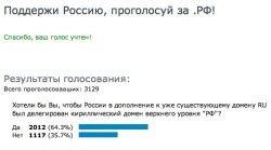 Домены .РФ выгодны только регистраторам?