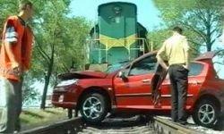 В России отмечен резкий взлет числа аварий на железнодорожных переезда