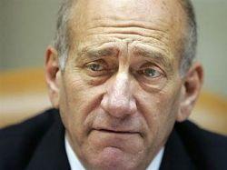 Эхуд Ольмерт отверг ультиматум министра обороны Израиля