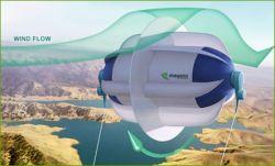 Канадцы разработали прототип парящего ветряка