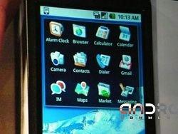 Google продемонстрировал работу Android на новом HTC Dream
