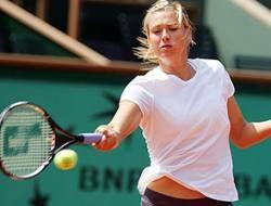 Мария Шарапова чуть не проиграла дебютантке