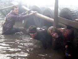 В Эссексе прошел 10-ти километровый забег по грязи
