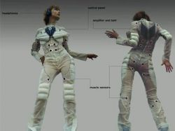 Концепт костюма Pacer: музыка тела