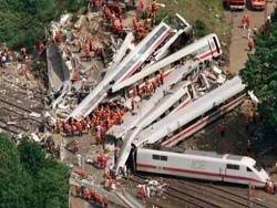 Самое крупное крушение поезда