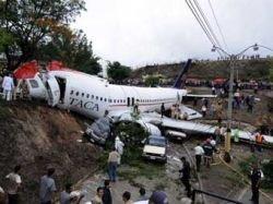 В Гондурасе при аварийной посадке самолета A320 ранены не менее 65 человек