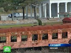 В Абхазию переброшены подразделения железнодорожных войск РФ
