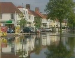 Европа из-за проливных дождей превращается в Венецию