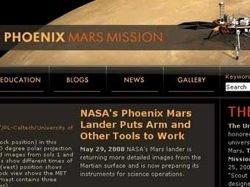 "Хакер взломал сайт миссии зонда \""Феникс\"""