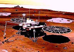 На Марсе обнаружен ледяной слой