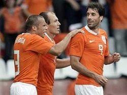 Сборная Голландии выиграла последний матч перед Евро-2008