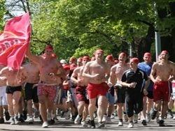 В Риге состоялся массовый забег за пивом